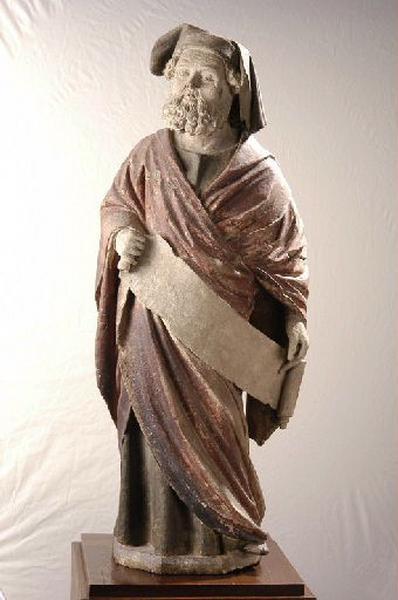 Prophète (Ce prophète a reçu le surnom de 'prophète au phylactère' (source : catalogue 'exposition Bourges musée du Berry 2004'))
