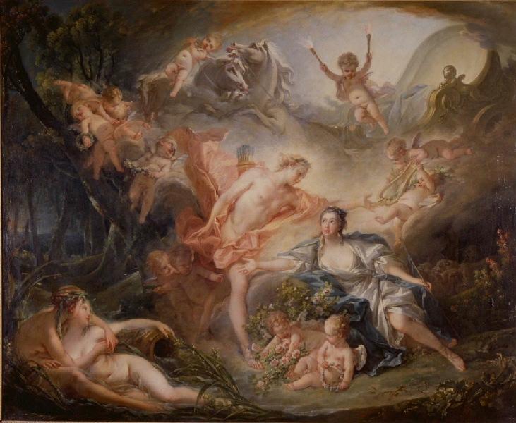 Apollon révélant sa divinité à la bergère Issé_0