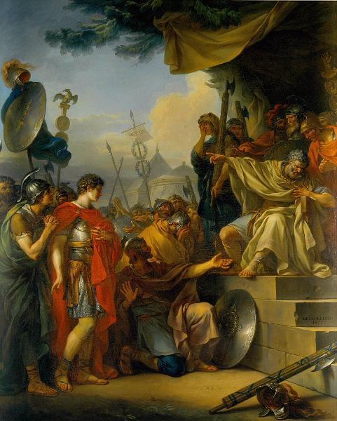 Manlius Torquatus condamnant son fils à mort (pour s'être malgré sa défense engagé dans un combat singulier avant la bataille)_0