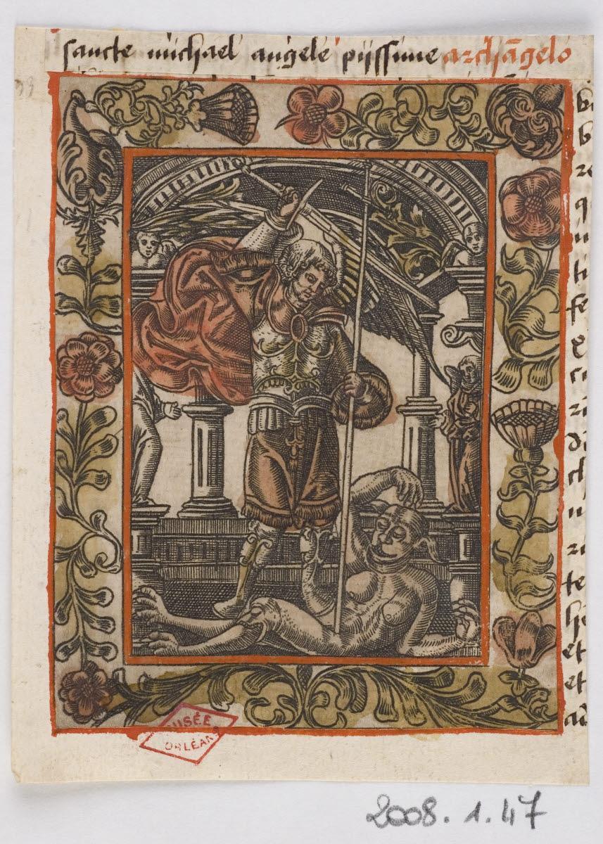 Saint Michel terrassant le démon_0