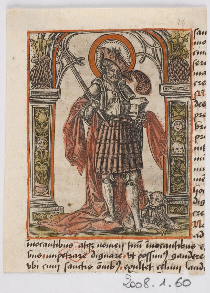 Saint guerrier (Saint Adrien ?)_0