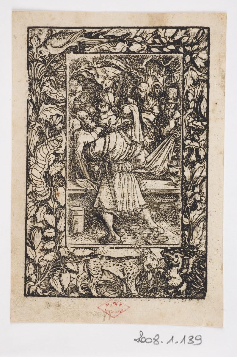 EGENOLFF Christian (imprimeur), GRIMM Sigmund (imprimeur), WEIDITZ Hans I (graveur, inventeur), WIRSUNG Marx (imprimeur) : Mise au tombeau