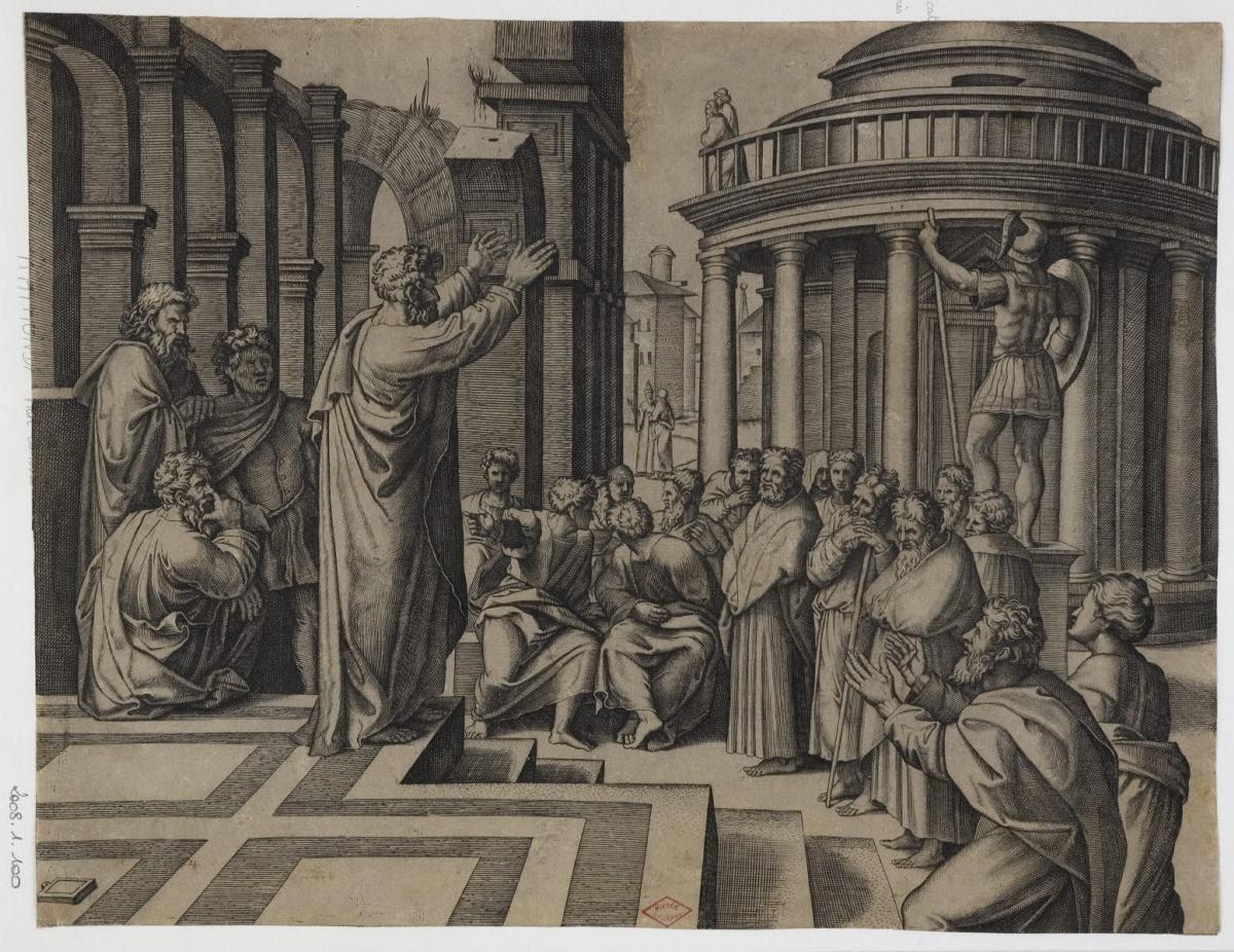 Prédication de saint Paul à Athènes_0