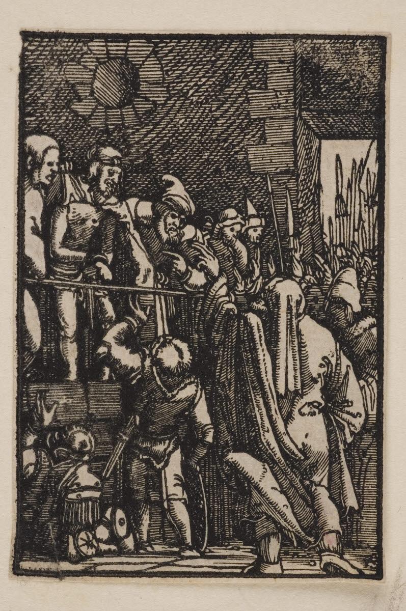 ALTDORFER Albrecht (graveur, inventeur, d'après) : Ecce homo