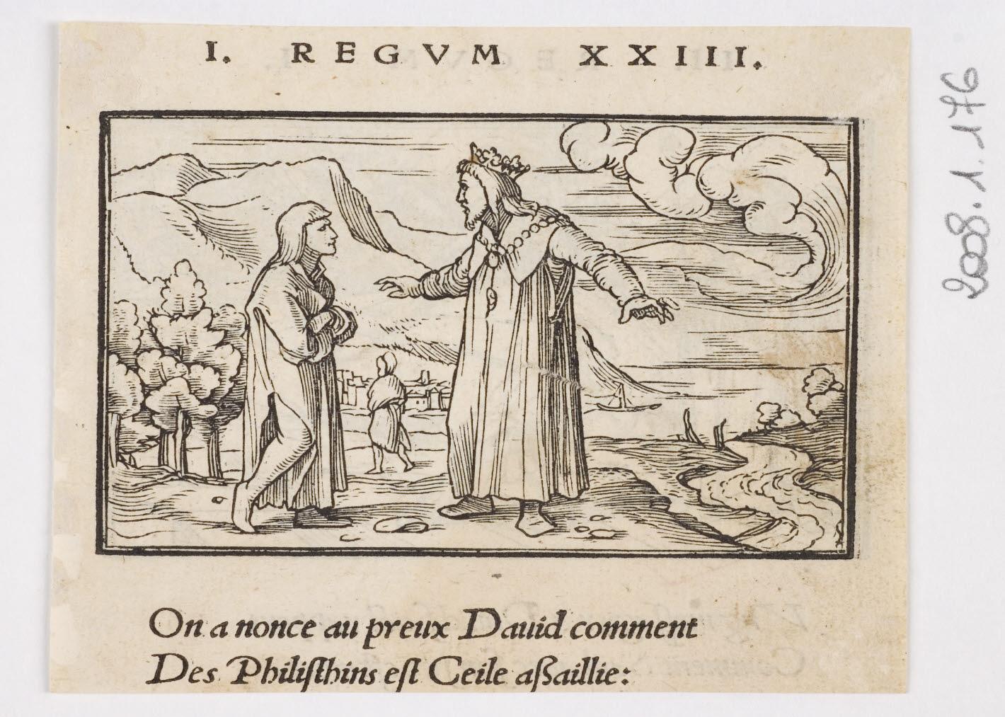 Annonce à David de l'attaque des Philistins sur Qeïla/Annonce à David de la mort de Saül_0