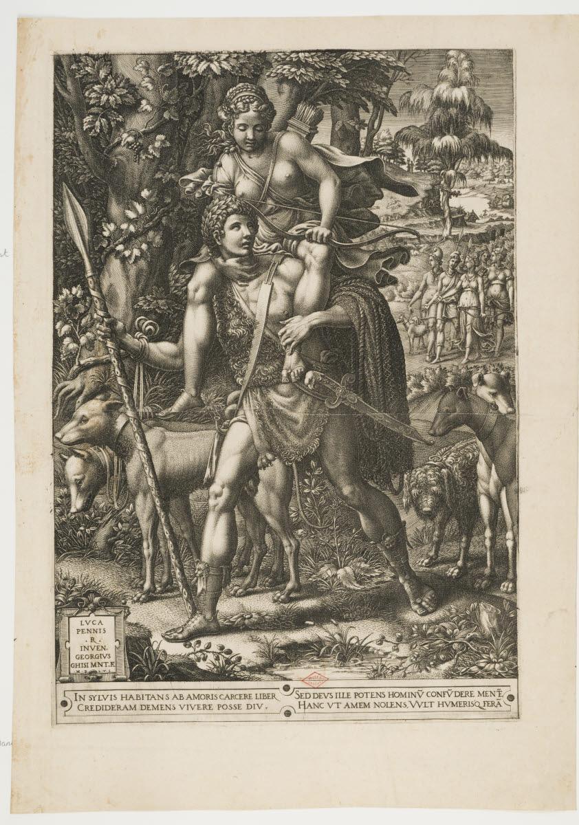 Orion portant Diane sur ses épaules (Allégorie de la chasse)_0