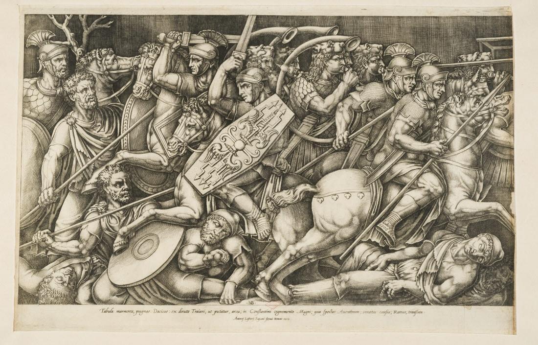 Combat des Romains et des Daces_0