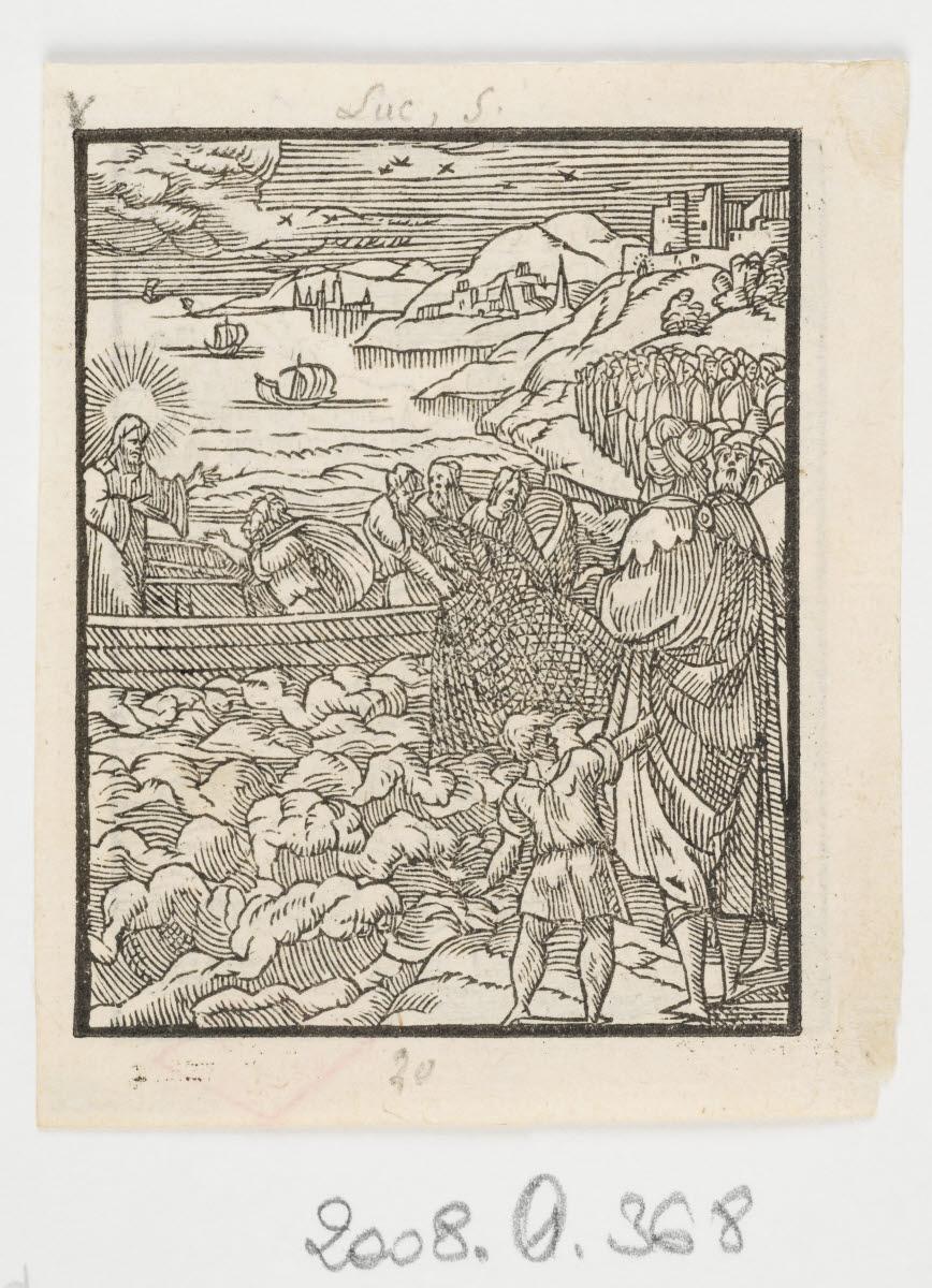 La Vocation des apôtres/Guérison d'un lépreux_0