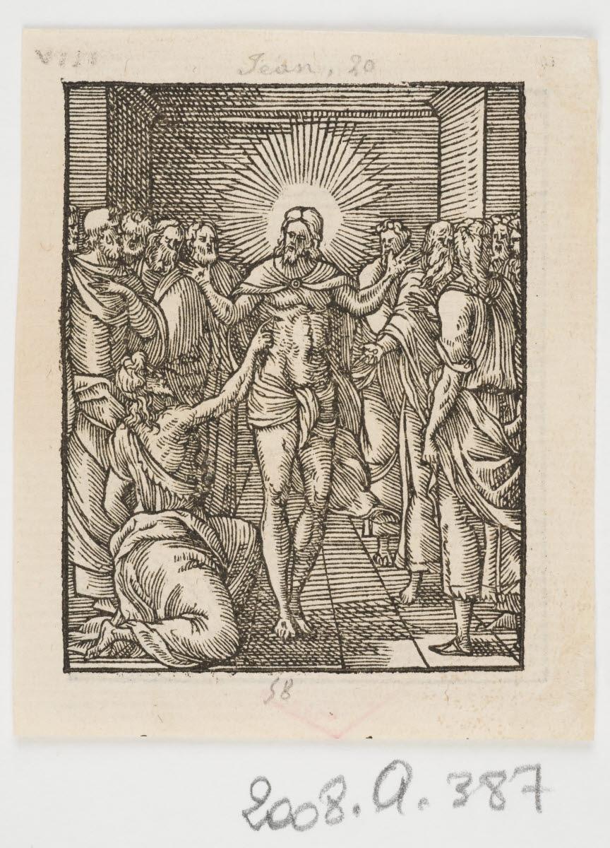 L'Incrédulité de Saint Thomas/L'Ascension du Christ_0