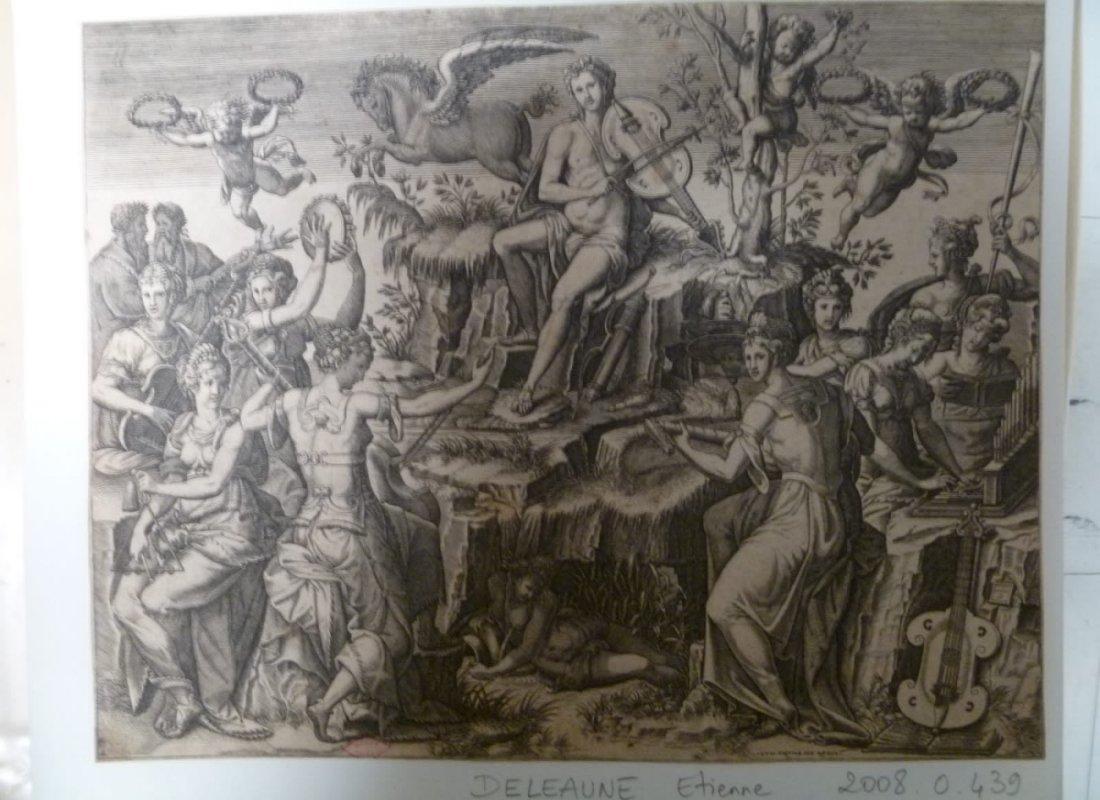 Apollon et les Muses sur le Parnasse_0