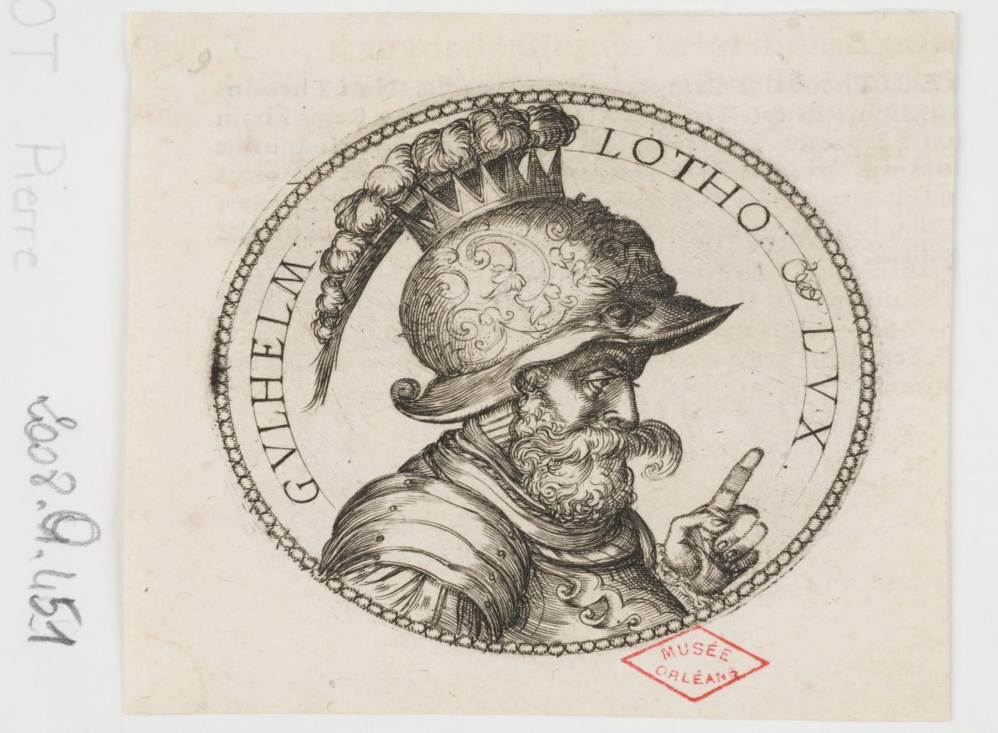 WOEIRIOT DE BOUZEY Pierre (inventeur, graveur) : Guillaume, duc de Lorraine