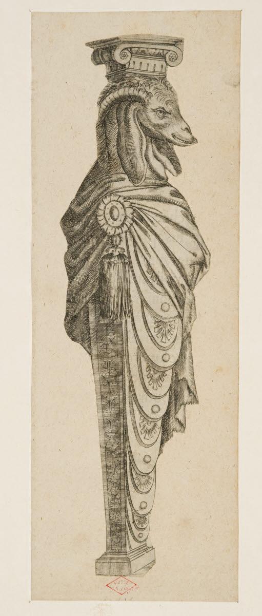BOILLOT Joseph (graveur, inventeur) : Terme à corps de chèvre