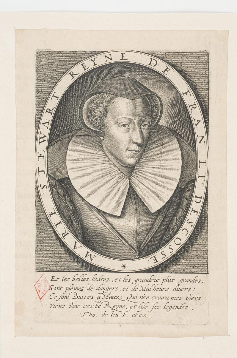 LEU Thomas de (graveur, inventeur) : Marie Stuart