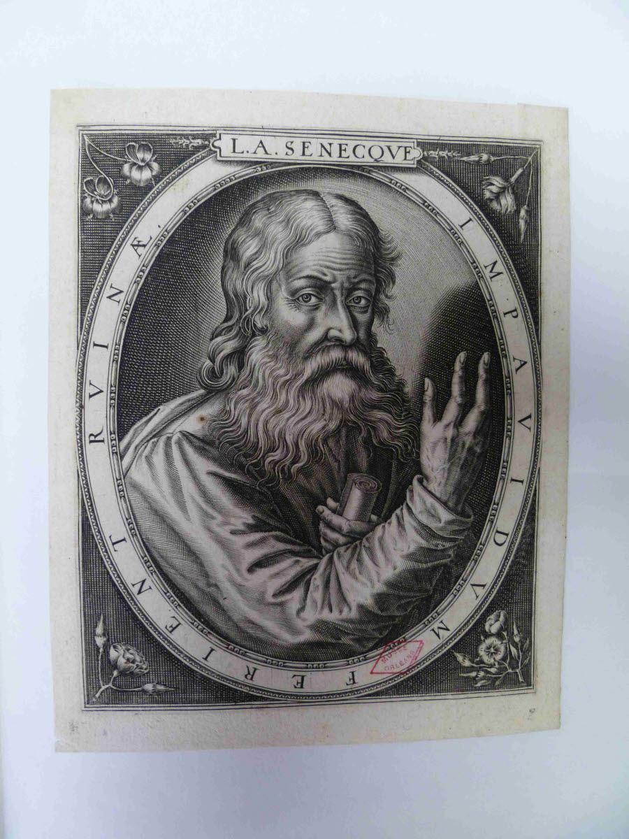 LEU Thomas de (graveur, inventeur) : Sénèque