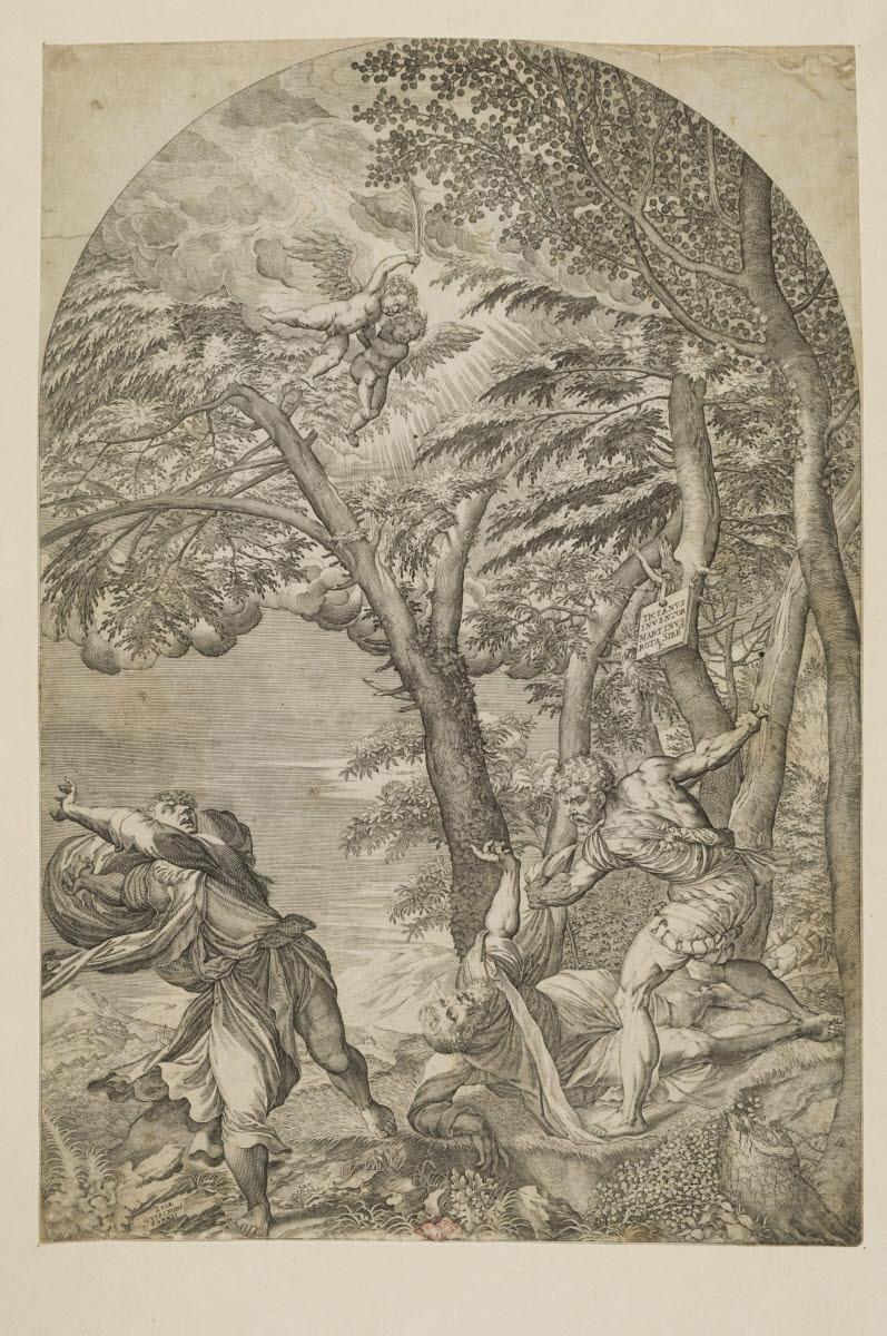 Le martyre de saint Pierre de l'ordre des frères prêcheurs_0