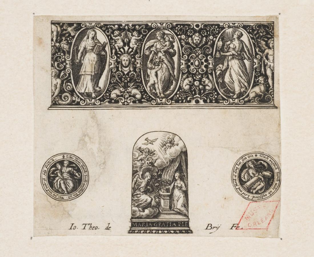Planche d'ornements d'orfèvrerie (dés à coudre)_0