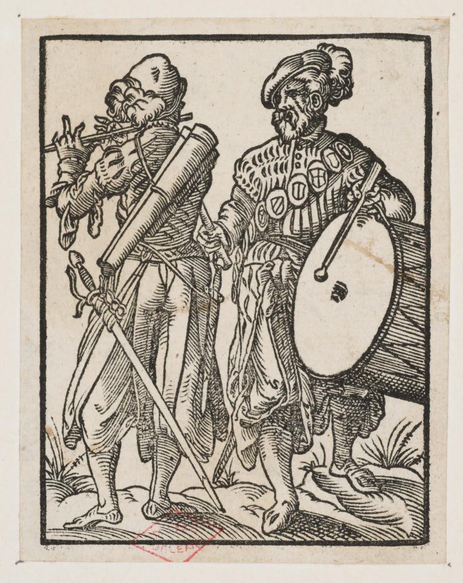 Deux musiciens (fifre et tambourin)_0