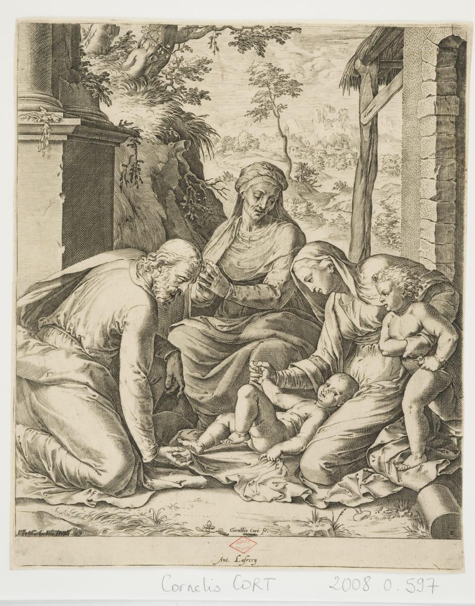Sainte Famille avec sainte Elisabeth et saint Jean-Baptiste_0