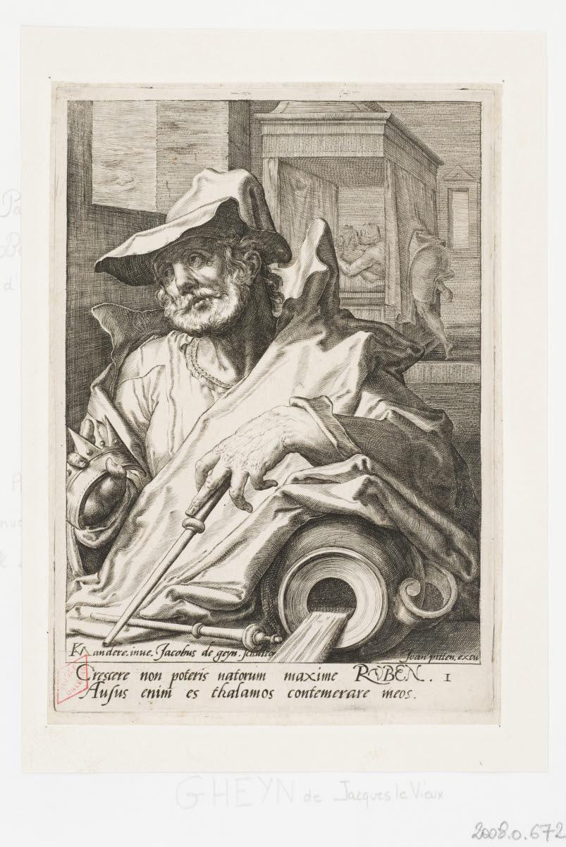 GHEYN Jacob II de (graveur), MANDER Karel I van (inventeur), PITTEN Joan (éditeur) : Ruben