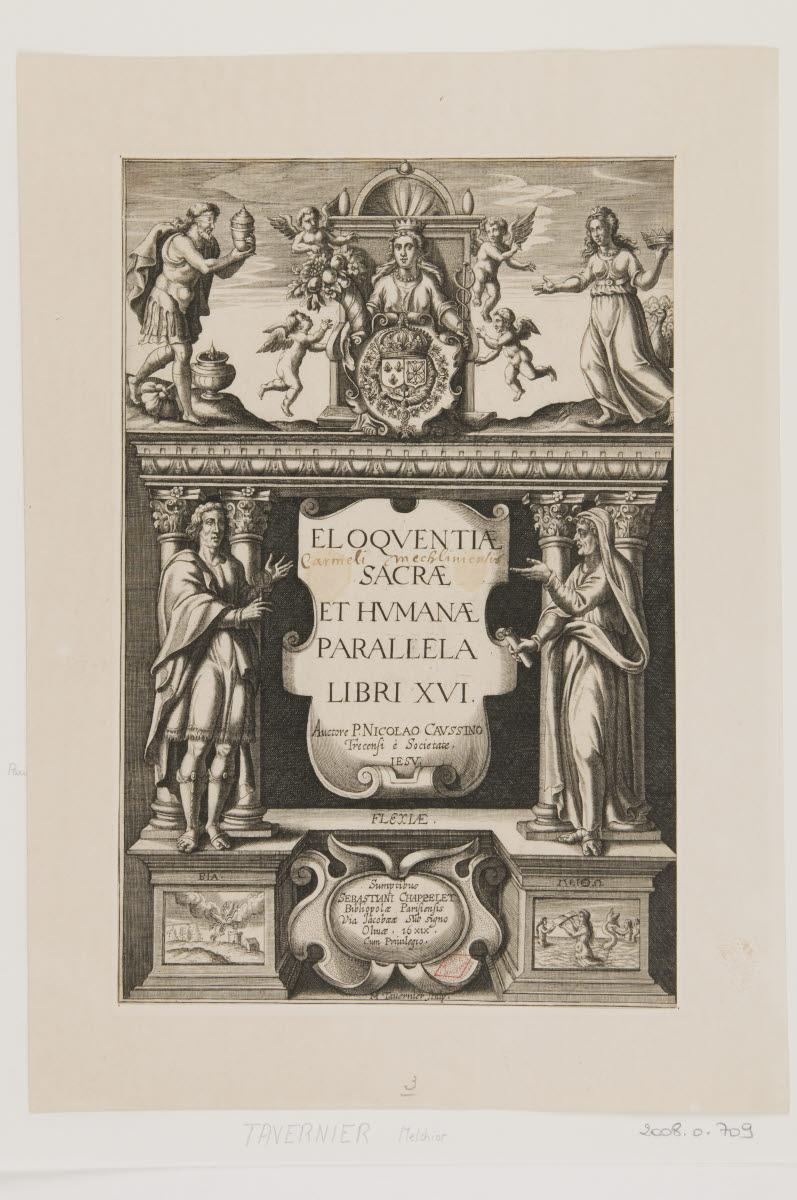 Frontispice de Eloquentiae sacrae et humanae parallela_0