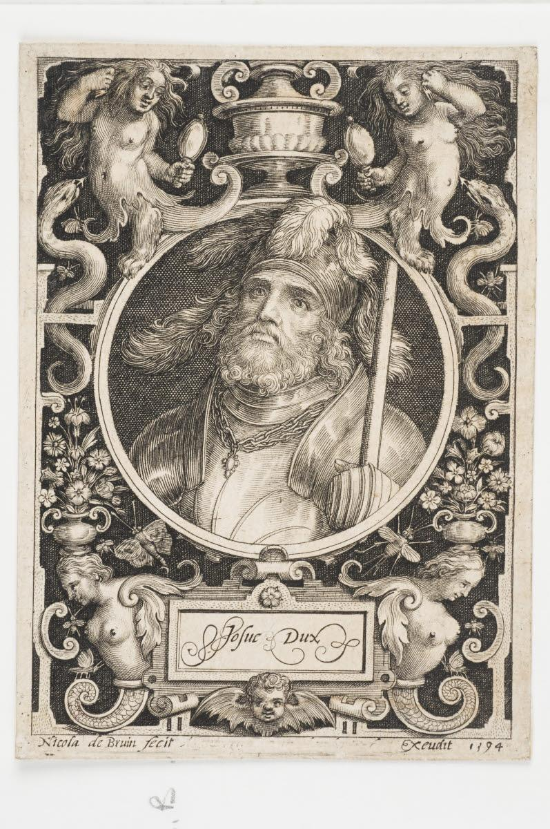 anonyme (?, éditeur, inventeur, d'après), BRUYN Nicolaes de (graveur) : Josué