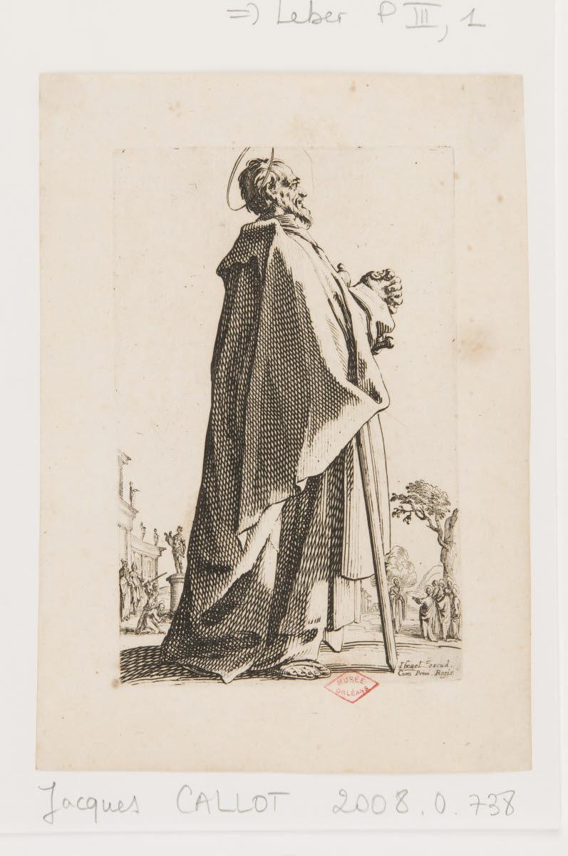 CALLOT Jacques (graveur, inventeur), HENRIET Israël (éditeur) : Saint Mathieu