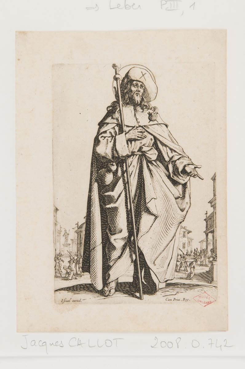 CALLOT Jacques (graveur, inventeur), HENRIET Israël (éditeur) : Saint Jacques le Majeur