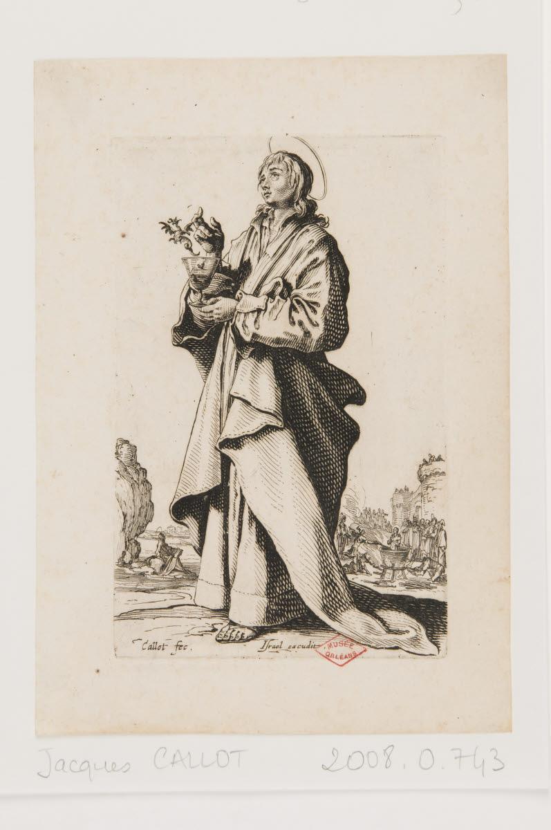 CALLOT Jacques (graveur, inventeur), HENRIET Israël (éditeur) : Saint Jean