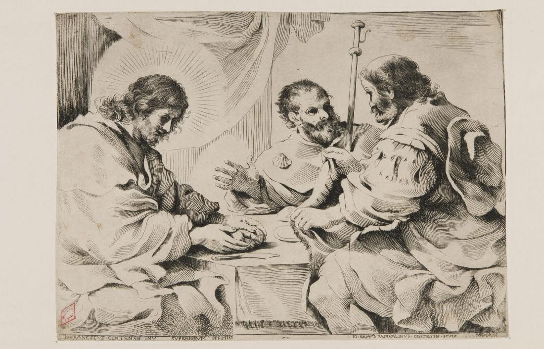 Le Christ et les pélerins d'Emmaüs_0