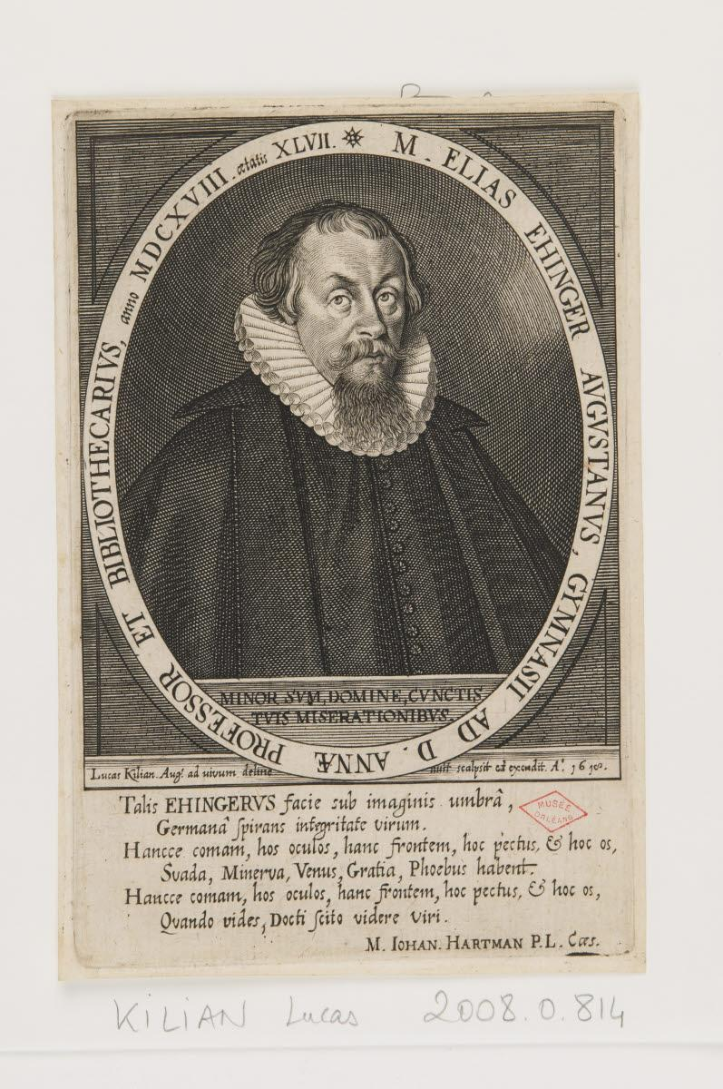 KILIAN Lukas (graveur, éditeur, inventeur, d'après) : Elias Ehinger