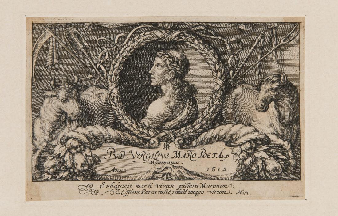 Frontispice d'un livre de Virgile (Les Bucoliques ?)_0