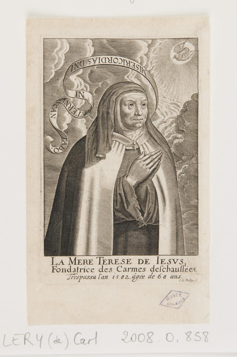 La Mère Thérèse de Jésus (sainte Thérèse d'Avila)_0