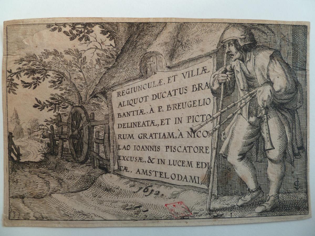 Frontispice de Regiunculae et villae aliquot ducatus Brabantiae_0