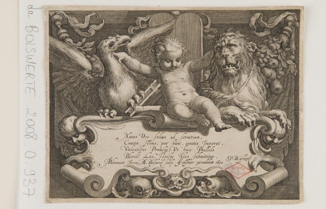 BOLSWERT Boetius Adams (graveur), VISSCHER Claes Jansz (éditeur) : Frontispice