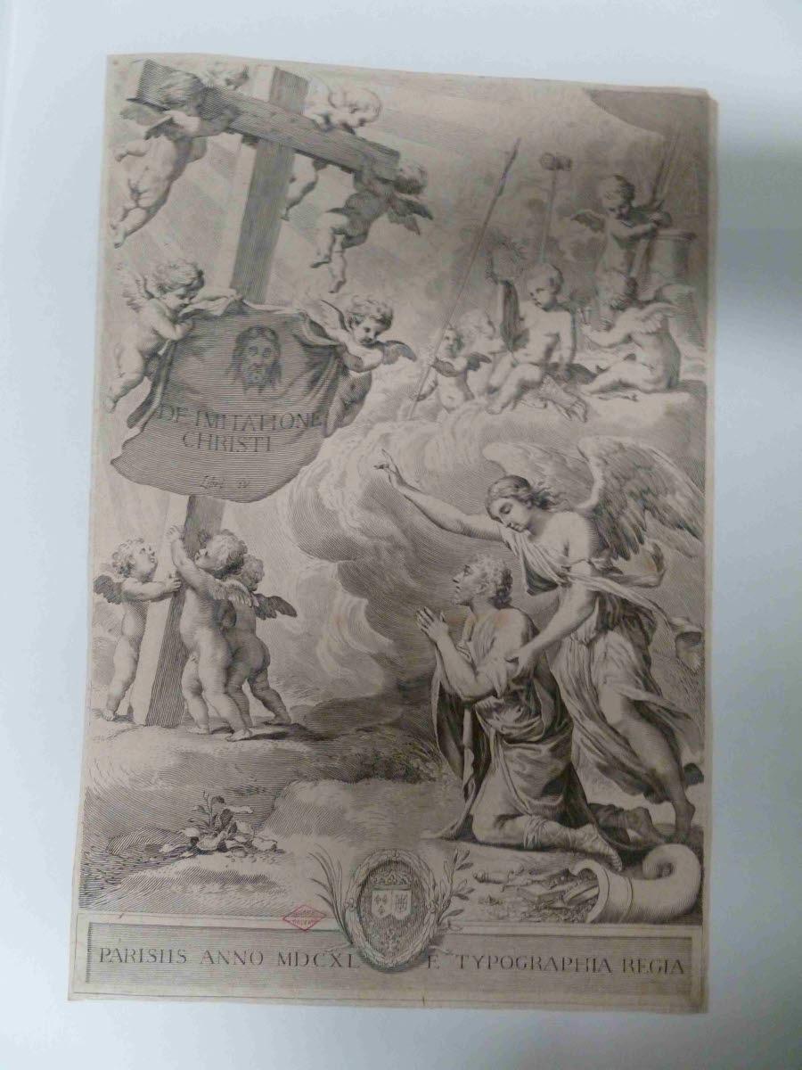 Frontispice du De imitatione Christi, livre IV_0
