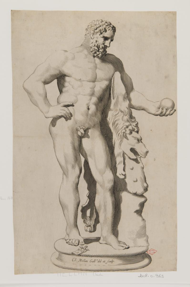 MELLAN Claude (inventeur, graveur) : Hercule