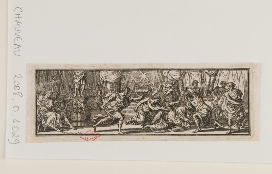 Jules César assassiné dans le Sénat/Monnaies antiques_0