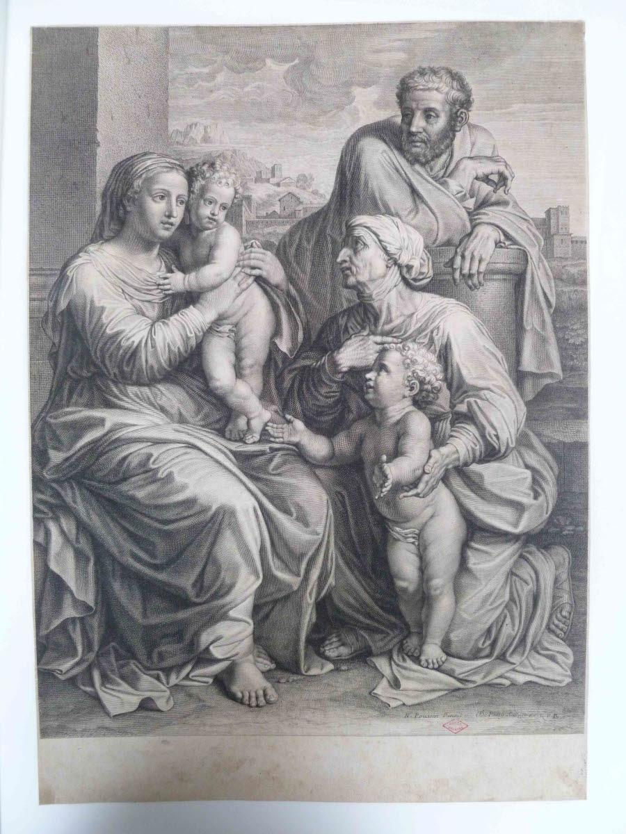 La Sainte Famille avec sainte Elisabeth et saint Jean-Baptiste_0