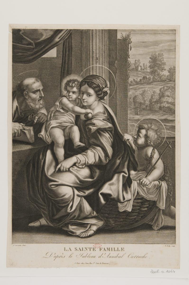 La Sainte Famille avec saint Jean-Baptiste_0