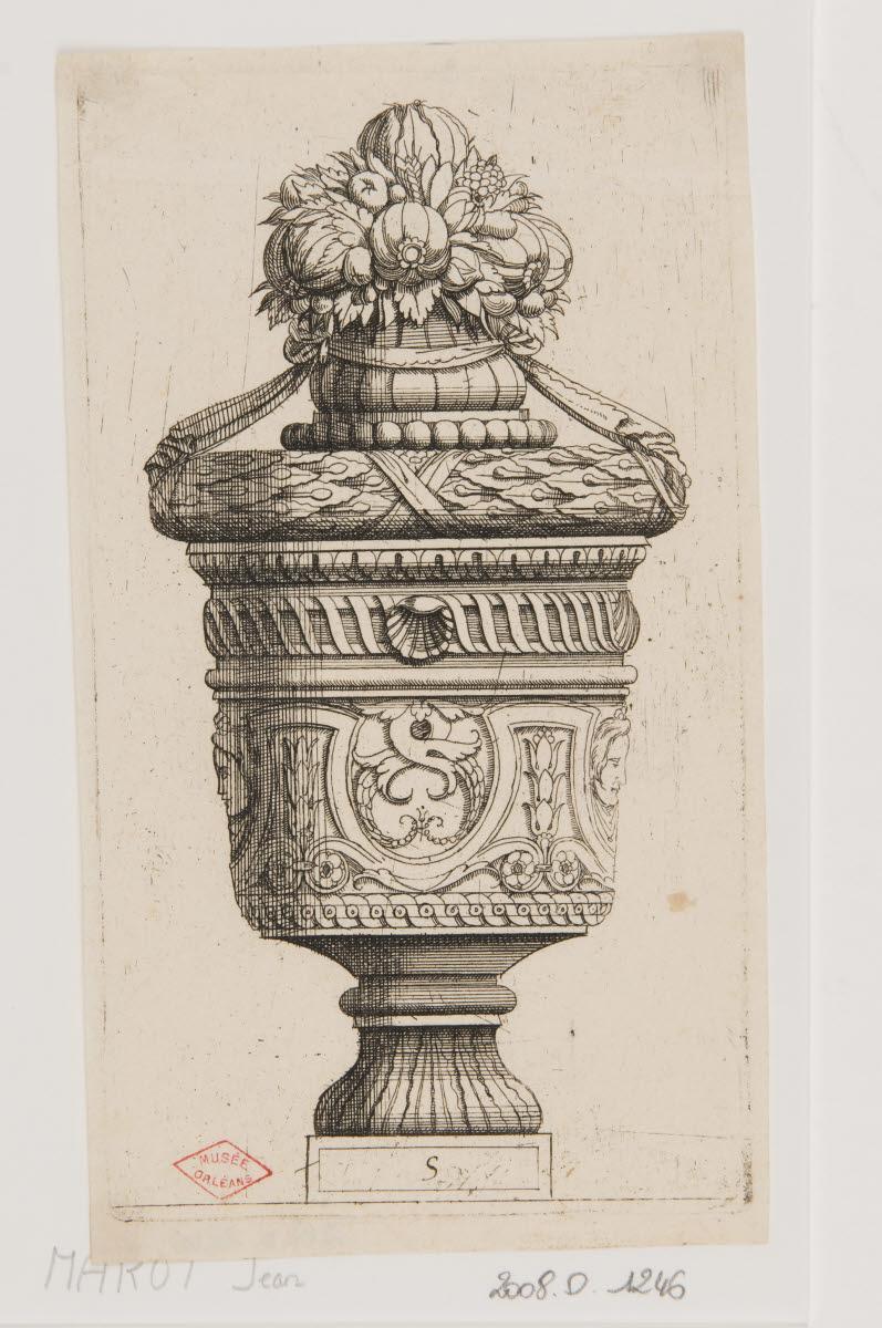 Vase au bouquet de fruits_0