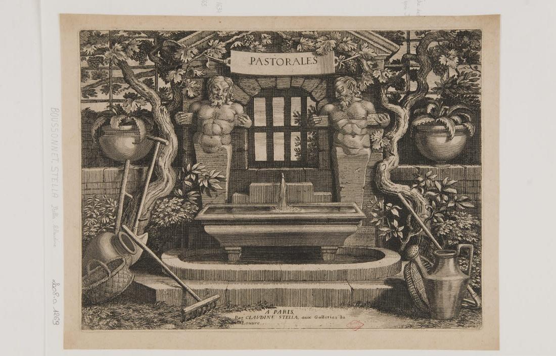 BOUZONNET-STELLA Claudine (graveur), STELLA Jacques (inventeur) : Titre des Pastorales