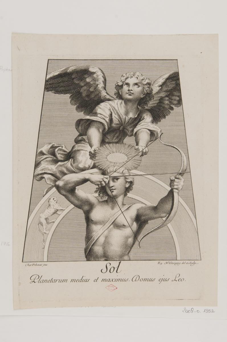DORIGNY Nicolas (dessinateur, graveur), SANZIO Raffaello (inventeur), RAPHAEL (dit) : Soleil