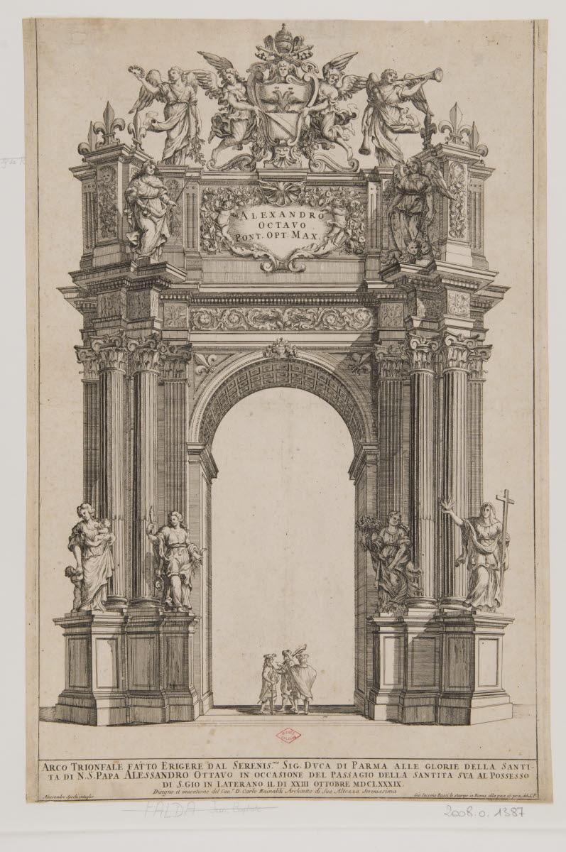 Arc de Triomphe du pape Alexandre VIII_0