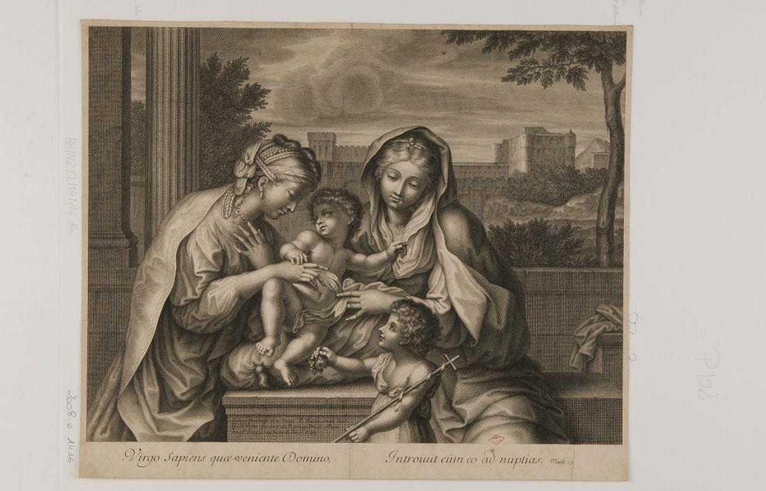 La Vierge à l'Enfant, saint Jean-Baptiste et sainte Catherine_0