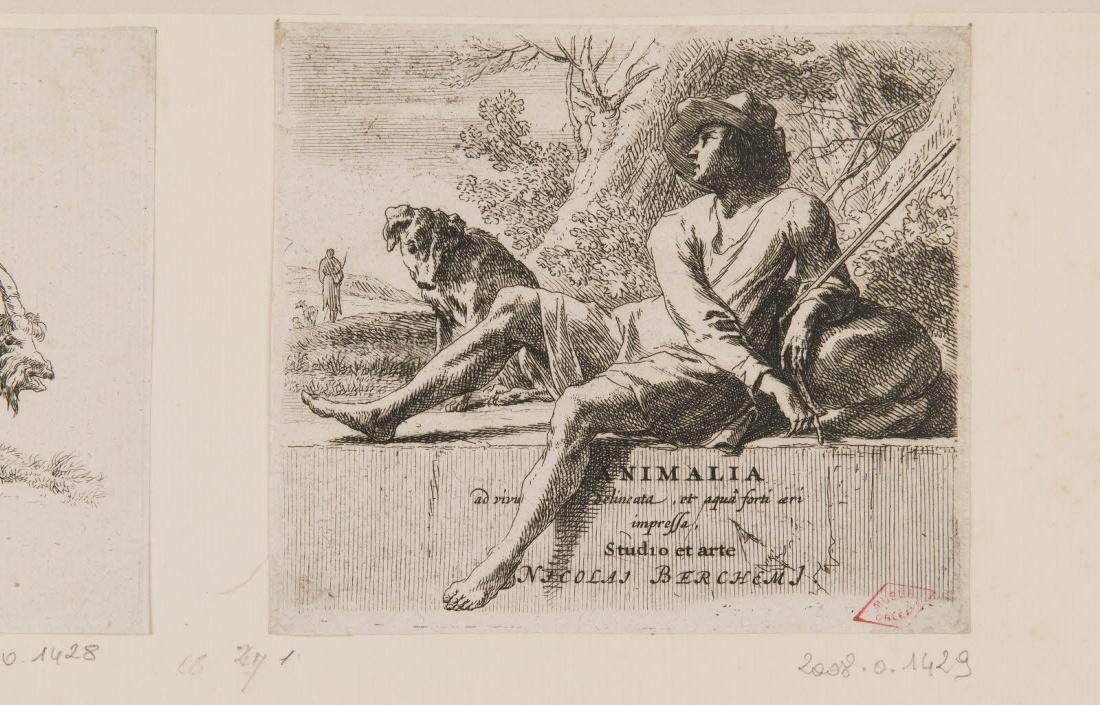 Un berger et son chien_0