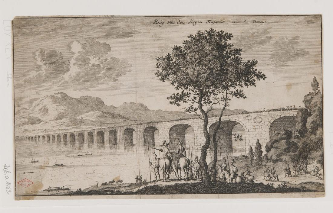 Pont de l'empereur Trajan sur le Danube_0