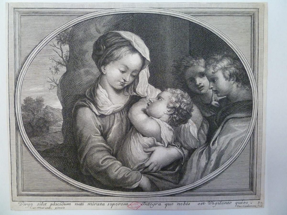 Vierge à l'Enfant avec deux anges_0