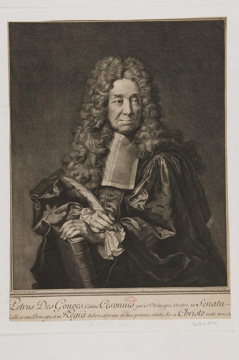 Portrait de Petrus des Gouges_0