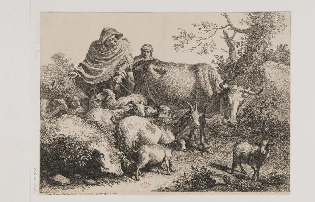 Deux bergers et leur troupeau_0