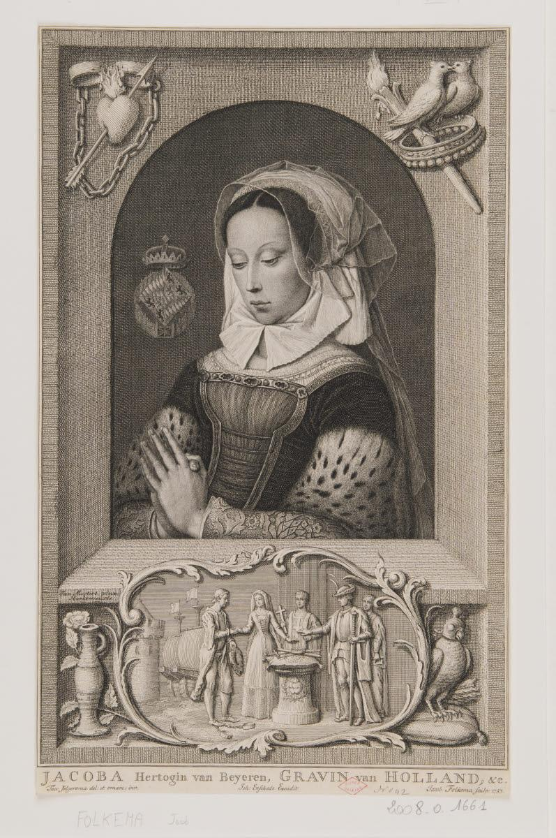 Jacoba (Jacqueline) de Bavière, comtesse de Hollande_0